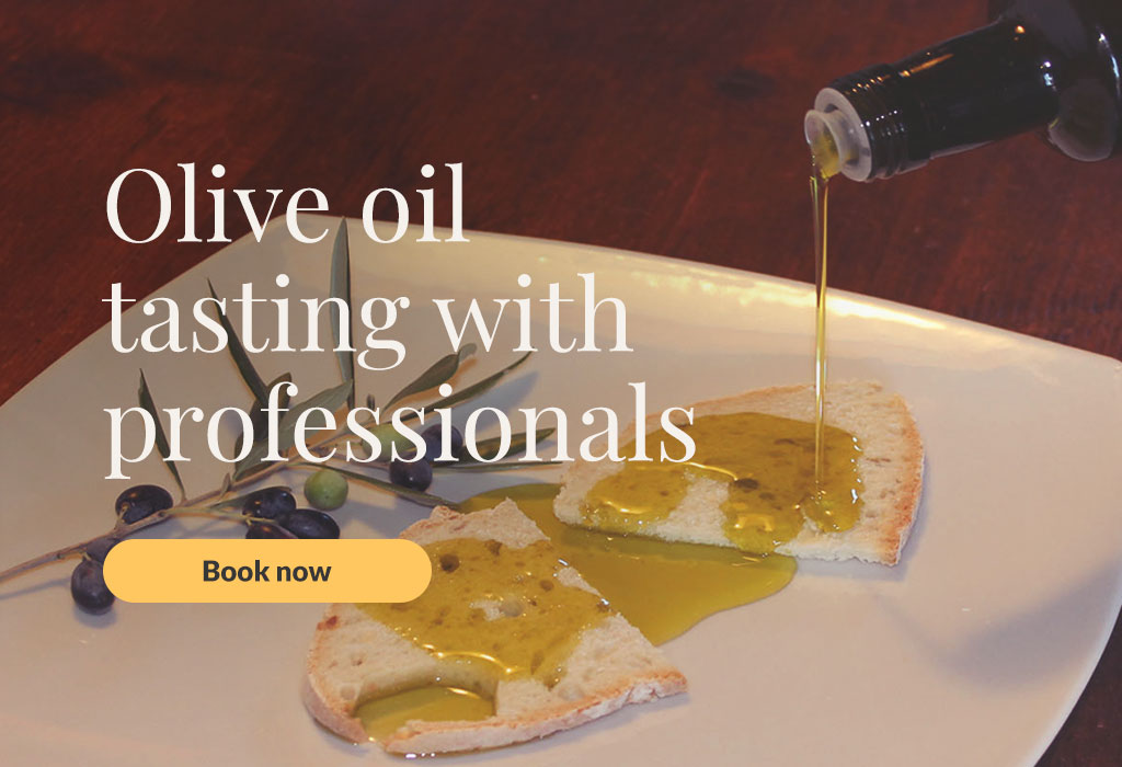 Olive oil tasting experience with professionals